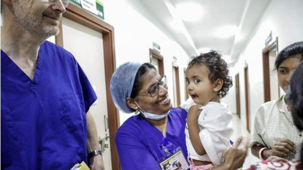 Opearation Smile program aims to advance the availability of surgical care in India